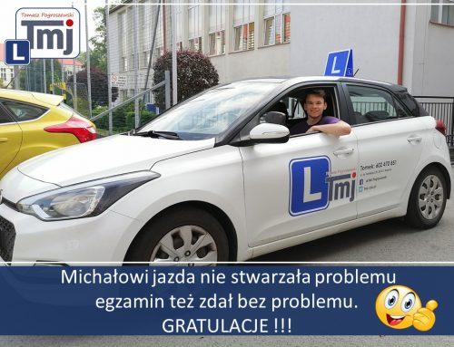 BRAWO MICHAŁ MOJE GRATULACJE :-).