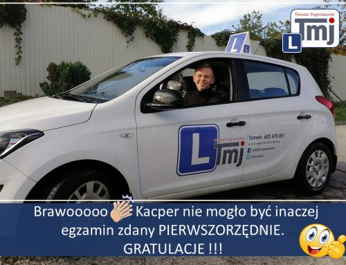 BRAWO KACPER MOJE GRATULACJE :-).