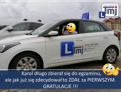 BRAWO KAROL MOJE GRATULACJE :-).